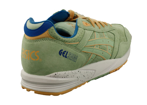ASICS GEL SAGA SZ 10 SMOKE GREEN EASTER PACK