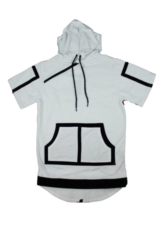 MEN'S S/S DROP TAIL HOODIE