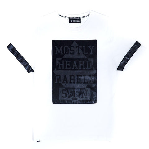 MHRS QUILTED DIAMOND TEE (WHITE)