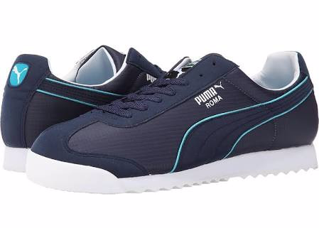 PUMA Roma Spring NM Men's Shoes Peacoat/Capri Breeze : 11 D - Medium