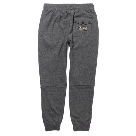 LRG NOMADIC ADDICT SWEATPANT - BLACK HEATHER