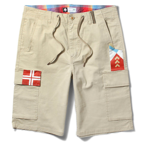 LRG PADDLE TEAM CARGO SHORT - KHAKI