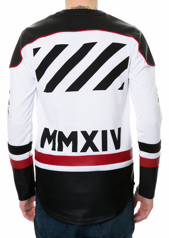 The S.Q.Z. Fleece Long Sleeve hockey Jersey