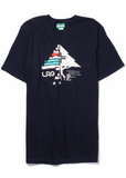 LRG TREE FLAG TEE - NAVY