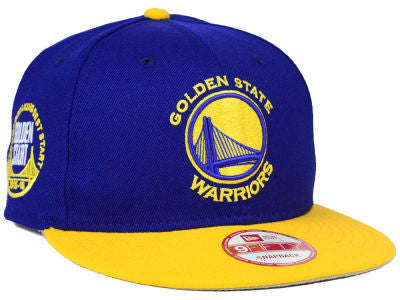 Golden State Warriors NBA HWC Golden Start 9FIFTY Snapback Cap