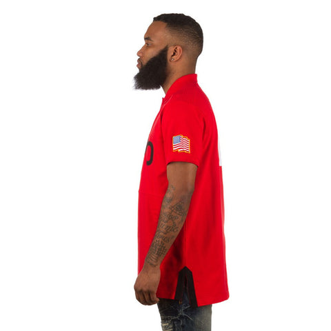 STEALTH S/S POLO (RED)