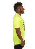 PEACE CHIEF S/S TEE (SAFETY GREEN)