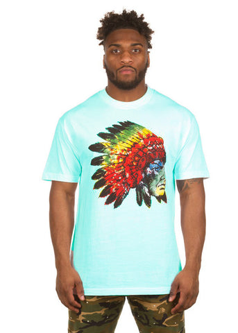 PEACE CHIEF S/S TEE (CELADON)