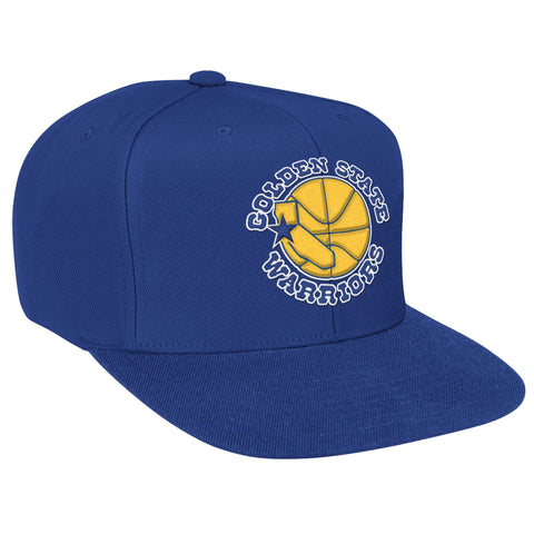 Solid Snapback Golden State Warriors