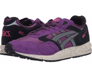 innovative design 37106 a1fb2 Onitsuka Tiger by Asics Gel-Saga Lace up casual Shoes Purple/Grey