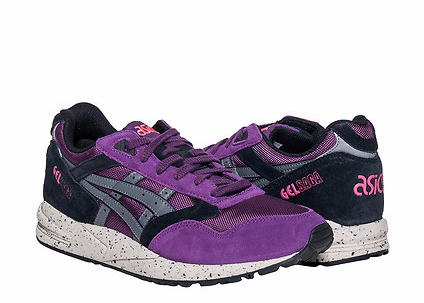 Onitsuka Tiger by Asics Gel-Saga Lace up casual Shoes Purple/Grey