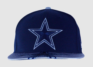 DALLAS COWBOYS VISOR GLEAM CAP