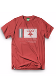 LRG WAVE MAKERS TEE - RED