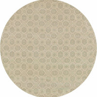Woven Richmond Beige Ivory Oriental Floral Traditional Rug