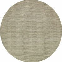 Woven Richmond Beige Ivory Solid Stripe Transitional Rug
