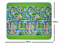 Baby & Kids Rug - Numbers, Colors & Different Vehicles - Free Shipping