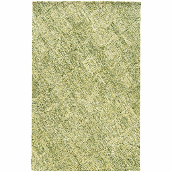 Colorscape Green  Geometric Rug - Free Shipping