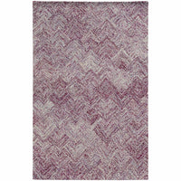 Colorscape Purple   Geometric Rug - Free Shipping