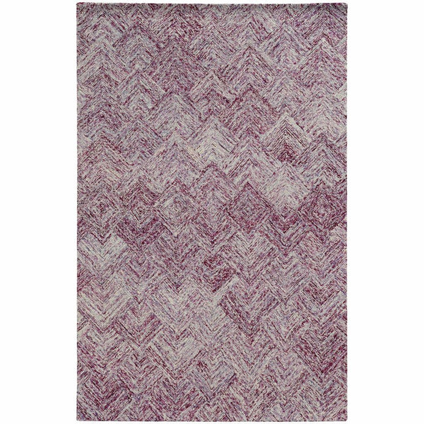 Area Rugs - Colorscape Purple   Geometric Rug