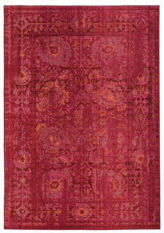 Expressions Pink Red Oriental Rug