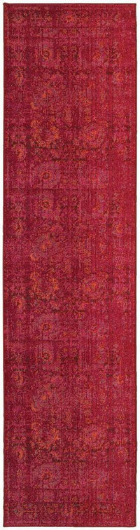 Expressions Pink Red Oriental Rug - Free Shipping