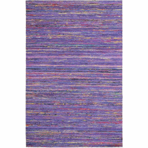 Madisons Purple Sari Silk Area Rug