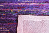 Area Rugs - Madisons Purple Sari Silk Area Rug