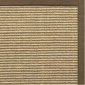 Bone Sisal Rug with Eucalyptus Cotton Border