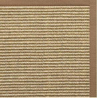 Bone Sisal Rug with Harvest Haze Cotton Border - Free Shipping