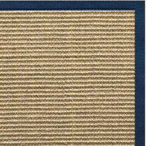 Bone Sisal Rug with Marina Cotton Border