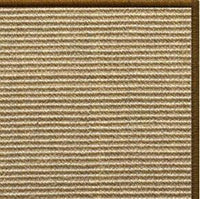 Bone Sisal Rug with Serged Border (Color 1048) - Free Shipping