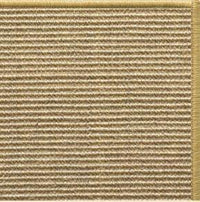 Bone Sisal Rug with Serged Border (Color 10816) - Free Shipping
