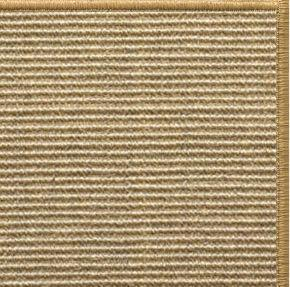 Bone Sisal Rug with Serged Border (Color 200) - Free Shipping