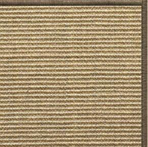 Bone Sisal Rug with Serged Border (Color 29024) - Free Shipping