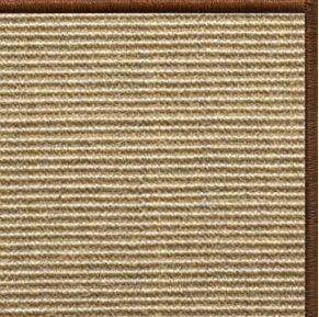 Bone Sisal Rug with Serged Border (Color 29275) - Free Shipping