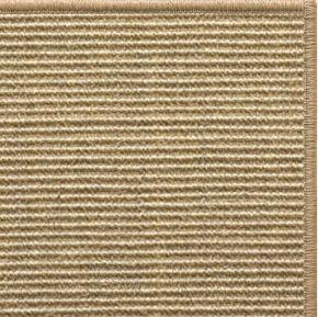 Bone Sisal Rug with Serged Border (Color 29315) - Free Shipping