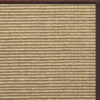 Bone Sisal Rug with Serged Border (Color 29338) - Free Shipping