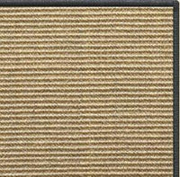 Bone Sisal Rug with Serged Border (Color 29750) - Free Shipping