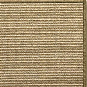 Bone Sisal Rug with Serged Border (Color 29950) - Free Shipping