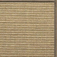 Bone Sisal Rug with Serged Border (Color 29979) - Free Shipping