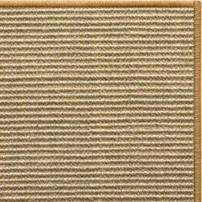 Bone Sisal Rug with Serged Border (Color 29989) - Free Shipping