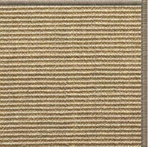Bone Sisal Rug with Serged Border (Color 30008) - Free Shipping