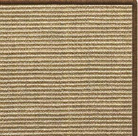 Bone Sisal Rug with Serged Border (Color 3295) - Free Shipping