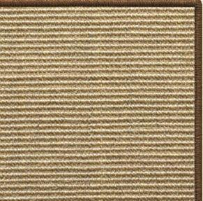 Area Rugs - Sustainable Lifestyles Bone Sisal Rug With Serged Border (Color 3295)