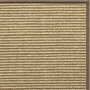 Bone Sisal Rug with Serged Border (Color 518) - Free Shipping