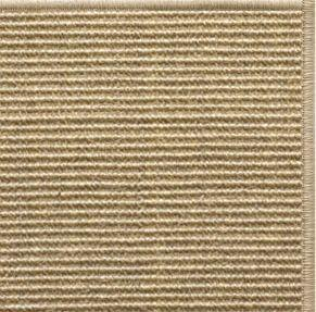 Bone Sisal Rug with Serged Border (Color 93) - Free Shipping
