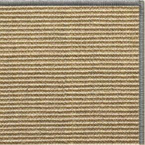Bone Sisal Rug with Serged Border (Color 989) - Free Shipping