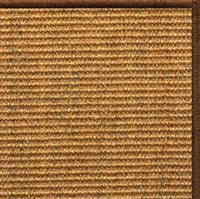 Cognac Sisal Rug with Serged Border (Color 29275) - Free Shipping