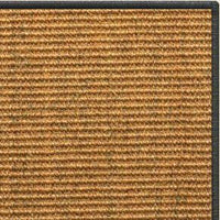 Cognac Sisal Rug with Serged Border (Color 29750) - Free Shipping
