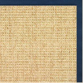 Sand Sisal Rug with Marina Cotton Border